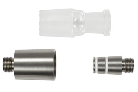 V2A Glasrauchsäulenadapter