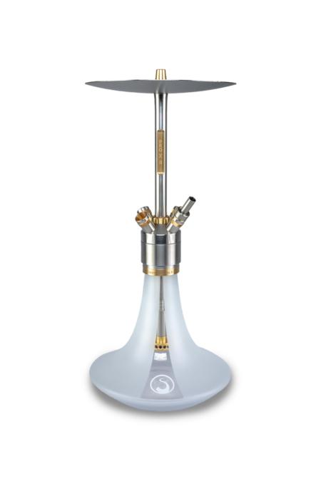Steamulation-Pro-X-II-Weiß-Matt-24k-Teilvergoldet-w